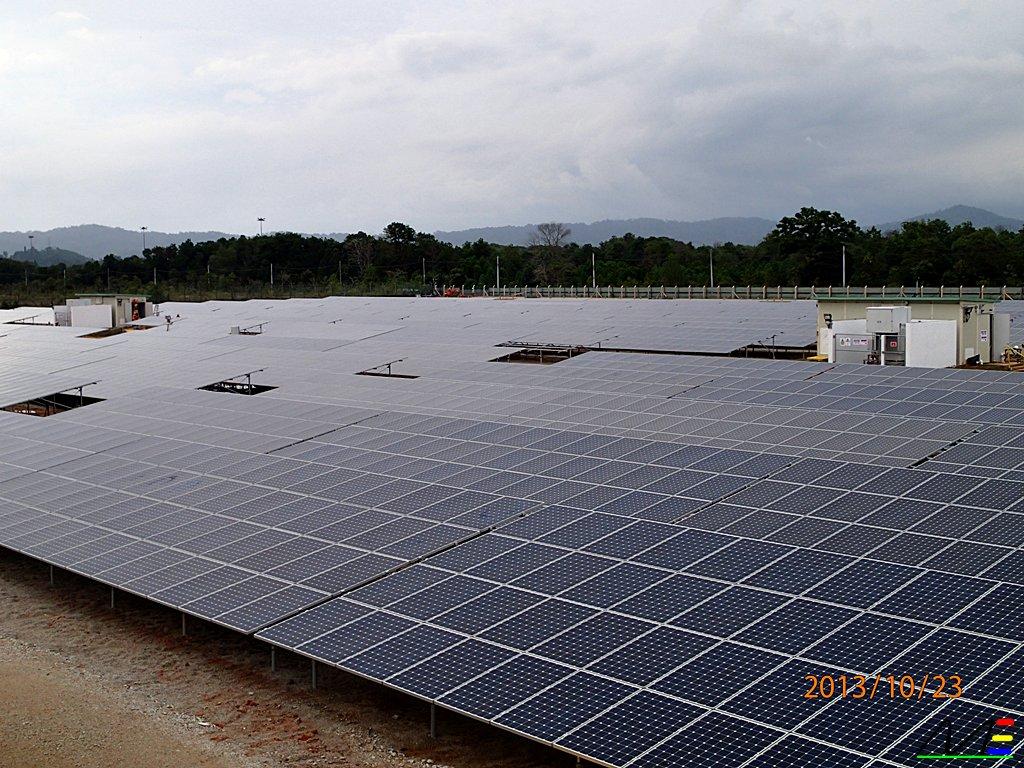 10mw Petronas Solar Pv Plant Gebeng Kuantan Pahang